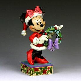ENESCO エネスコ ディズニーコレクション サンタミニー(クリスマスリース)#4039034 #ens009041