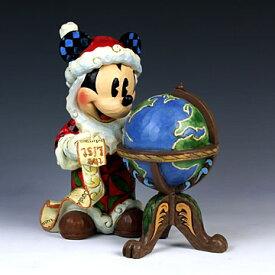 ENESCO エネスコ ディズニーコレクション サンタミッキー(地球儀)#4033271 #ens009049