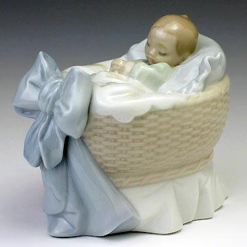 リヤドロ(Lladro リアドロ 陶器人形 置物) 赤ちゃん スィートベイビー(男の子)#ldr-6976