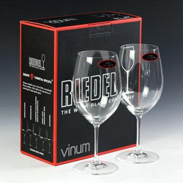 リーデル ワイングラス Riedel ヴィノム ボルドー・ペアセット #rdl6416-0p