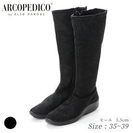 ARCOPEDICO アルコペディコ 5061340 ブラック ロングブーツ 送料無料 3E コンフォート 軽量