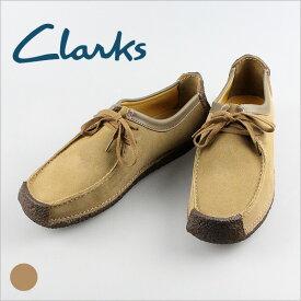 CLARKS クラークス 送料無料 335E Natalie オークウッドスウェードシューズ カジュアルシューズ メンズ  アウトレット