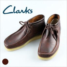 CLARKS クラークス 送料無料 455E 455 ワラビーブーツ レッドブラウン メンズ カジュアルシューズ アウトレット