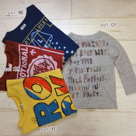【60%off SALE】【F.O.KIDS エフオーキッズ】R406016☆4色4柄Tシャツ♪とても着やすい✨4柄Tシャツ!とらさん英字に裏にはカメラのワンポイント✈【ベビー&キッズ服】◎メール便可