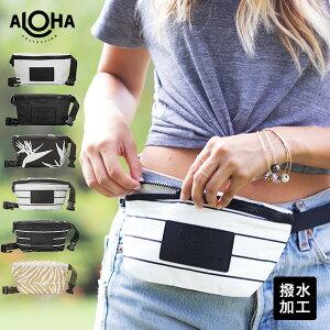 アロハコレクション/Aloha Collection Printed Mini Hip Pack ミニヒップパック 【送料無料】[ヒップパックハワイ発 撥水 ヨガ 水着入れ ウェットケース ビーチ プール 軽い 便利 コンパクト おしゃれ