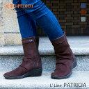 アルコペディコ PATRICIA(パトリシア)コンフォートブーツ 軽量 3E 【送料無料】[外反母趾 歩きやすい 痛くない 柔ら…