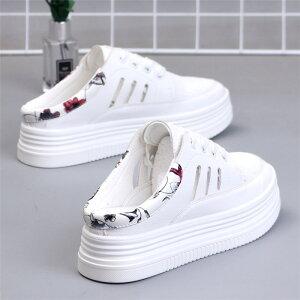 かかとなし スニーカー レディース 厚底スニーカー かかとなし 履きやすい 婦人靴 サンダルスニーカー キャンバス 厚底シューズ 韓国風 ダッドスニーカー レディース 厚底靴 美脚 歩きやす