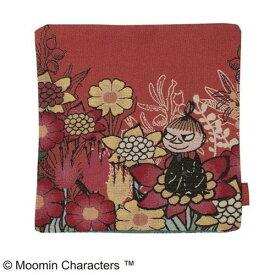 ムーミン クッションカバー花と一緒に ゴブラン織り