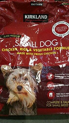 コストコ カークランドシグネチャー ドッグフード 小型犬用 チキン/ライス/ベジタブル 9.07kg