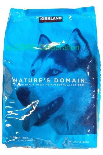 【送料無料】COSTCO コストコ KIRKLAND カークランドシグネチャー ドッグフード ネイチャーズドメイン 成犬用 サーモンアンドポテ 15.87kg