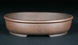 黄龍泥玉縁楕円鉢