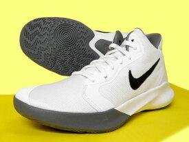 9/29入荷!ナイキ プレシジョン 3 ホワイト/ブラック AQ7495-100【バスケットボール】バスケットボールシューズ バッシュ バスケットシューズ 19HO 小さいサイズ