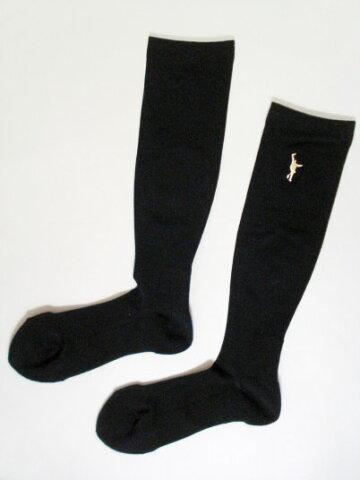 INTHEPAINT(インザペイント)バスケットボールコンディショニングソックス(ブラック×ベガスゴールド)[ITP769A-BKBG]【バスケットボール】アクセサリーソックス靴下くつ下スポーツソックスロングソックスバッソクメンズ