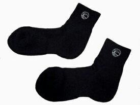 人気です!ボンスポーツオリジナル バスケットボール ミドルショートソックス(ブラック×ラメシルバー)[BN-150-BKSL]【バスケットボール】 ウェアソックス 靴下 くつ下 スポーツソックス クルーソックス バッソク メンズ