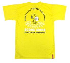 BALL LINE(ボールライン) バスケットボール スヌーピー Tシャツ(ミシガン)[PNU-1516-MIC] 【バスケットボール】バスケットボールウェア 半袖Tシャツ プラクティス シャツ SNOOPY