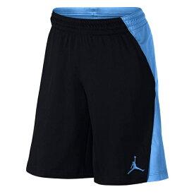 NIKE(ナイキ) ジョーダン バスケットボール ショーツ(ブラック×イタリーブルー)[861496-015] 【バスケットボール】バスケットボールパンツ バスパン プラクティスパンツ プラパン バスケットショーツ プラクティスショーツ お買い得