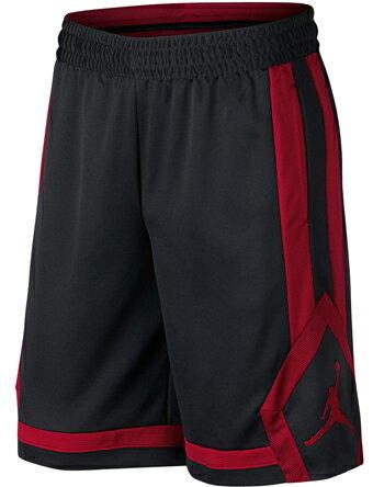 NIKE(ナイキ) ジョーダン バスケットボール ショーツ(ブラック×レッド)[924562-011] 【バスケットボール】バスケットボールパンツ バスパン プラクティスパンツ プラパン バスケットショーツ プラクティスショーツ