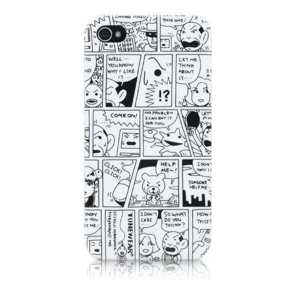 チューンウェア/TUNEWEAR【正規代理店品】Comic Case for iPhone 4S/4ケース【TUN-PH-000132】4512223661822