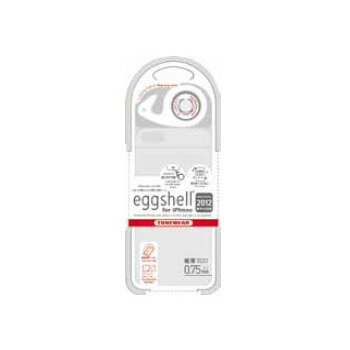 チューンウェア/TUNEWEAR【正規代理店品】eggshell for iPhone 2012 クリアホワイト(iPhone 5)ハードケース【TUN-PH-000142】4512223661921
