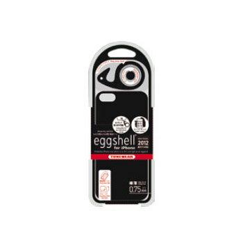 チューンウェア/TUNEWEAR【正規代理店品】eggshell for iPhone 2012 ブラック(iPhone 5)ハードケース【TUN-PH-000141】4512223661914