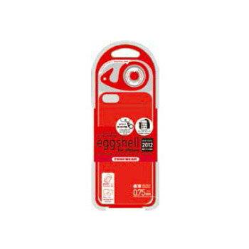 チューンウェア/TUNEWEAR【正規代理店品】eggshell for iPhone 2012 レッド(iPhone 5)ハードケース【TUN-PH-000137】4512223661877