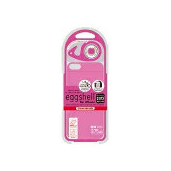 iPhone5用ケース【アウトレット品】eggshell for iPhone 5 ピンクハードケース