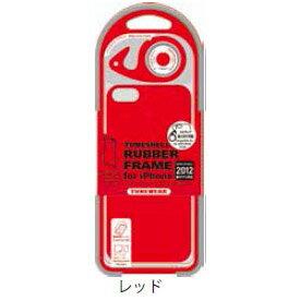チューンウェア/TUNEWEAR【正規代理店品】TUNESHELL RubberFrame for iPhone 2012 レッド(iPhone 5)ハードケース【TUN-PH-000161】4512223662119