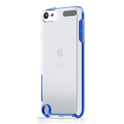 チューンウェア/TUNEWEAR【正規代理店品】TUNESHELL RubberFrame for iPod touch 5G ブルー【TUN-IP-000222】4512223662621