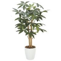 光の楽園パキラ90観葉植物光触媒人工植物W48×D48×H90cm