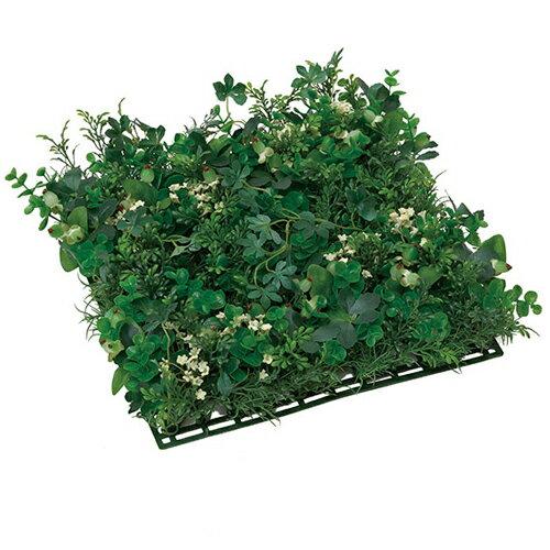 光の楽園 グリーン ミックスマット観葉植物 壁掛け ウォールグリーンW30×D30×H10cm