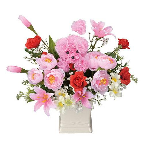 母の品 花 ギフト光の楽園 インテリアフラワー プチパール【送料無料】光触媒 人工植物 造花 インテリア プレゼント