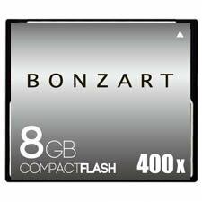 BONZART/ボンザート 8G X400 【BONZ8GCF400】 4571383310933 ボンザートメモリ コンパクトフラッシュ 一眼レフ 高速 ハイスピード
