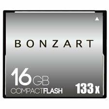 BONZART/ボンザート 16G X133 【BONZ16GCF133】 4571383310940 ボンザートメモリ コンパクトフラッシュ 一眼レフ 高速 ハイスピード
