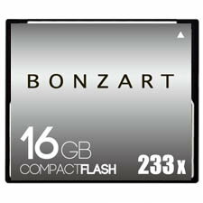 BONZART/ボンザート 16G X233 【BONZ16GCF233】 4571383310957 ボンザートメモリ コンパクトフラッシュ 一眼レフ 高速 ハイスピード