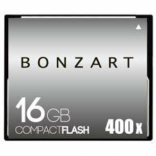 BONZART/ボンザート 16G X400 【BONZ16GCF400】 4571383310964 ボンザートメモリ コンパクトフラッシュ 一眼レフ 高速 ハイスピード