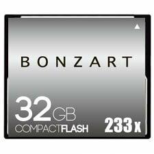 BONZART/ボンザート 32G X233 【BONZ32GCF233】 4571383310988 ボンザートメモリ コンパクトフラッシュ 一眼レフ 高速 ハイスピード