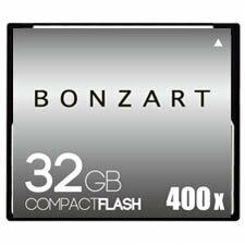 BONZART/ボンザート 32G X400 【BONZ32GCF400】 4571383310995 ボンザートメモリ コンパクトフラッシュ 一眼レフ 高速 ハイスピード