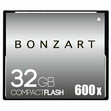 BONZART/ボンザート 32G X600 【BONZ32GCF600】 4571383311008 ボンザートメモリ コンパクトフラッシュ 一眼レフ 高速 ハイスピード