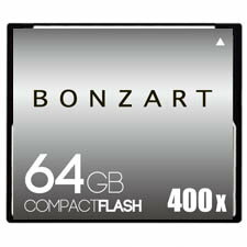 BONZART/ボンザート 64G X400 【BONZ64GCF400】 4571383311015 ボンザートメモリ コンパクトフラッシュ 一眼レフ 高速 ハイスピード