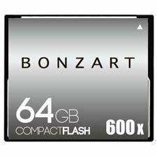 BONZART/ボンザート 64G X600 【BONZ64GCF600】 4571383311022 ボンザートメモリ コンパクトフラッシュ 一眼レフ 高速 ハイスピード
