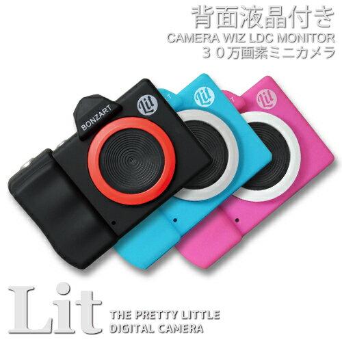 BONZART Lit+ ボンザート リト プラストイカメラ 30万画素ミニカメラ