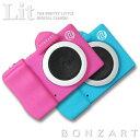 BONZART Lit+ ボンザート リト プラストイカメラ 30万画素ミニカメラ 子供用 キッズ デジタルカメラ カメラ キッズ…