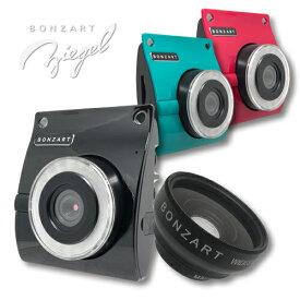 BONZART ZIEGEL レンズSET カメラ本体 + コンバージョンレンズトイカメラ 1800万画素