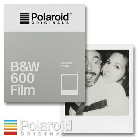 Polaroid Originals B&W 600 Film ポラロイド フィルム モノクロフィルム 600 / i-Typeカメラ用