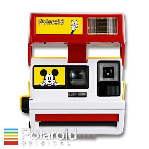 Polaroid 600 BOX Camera Limited Edition for Mickey's 90th ポラロイド ボックス型600カメラ ミッキーマウス生誕90周年モデル