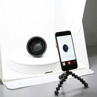 360°画像撮影用ターンテーブルfoldio360フォルディオ360【送料無料】スマホ全方位撮影全周写真商品画像フリマ