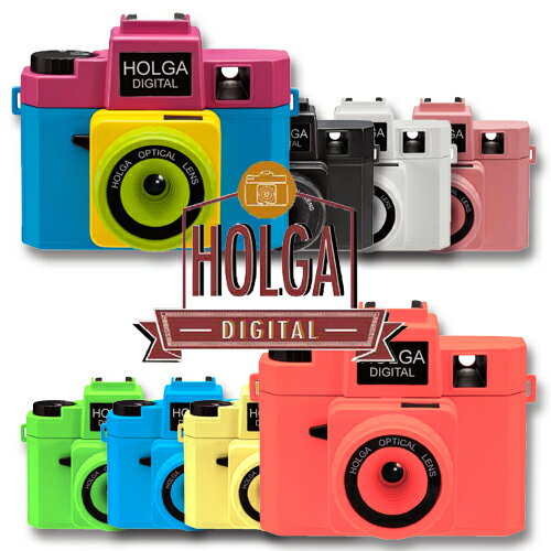 HOLGA DIGITAL ホルガ デジタルトイカメラ デジタルカメラ Wi-fi SD対応