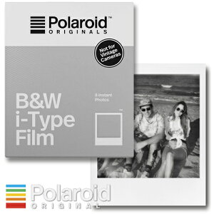 Polaroid Originals B&W i-Type Film ポラロイド フィルム モノクロフィルム i-typeカメラ用
