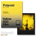 Polaroid Yellow 600 Film Duochrome Edition ポラロイドフィルム イエローフィルム i-type / 600カメラ用