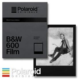 Polaroid Originals B&W 600 Film Black Frame Edition ポラロイド i-type / 600カメラ用 モノクロフィルム